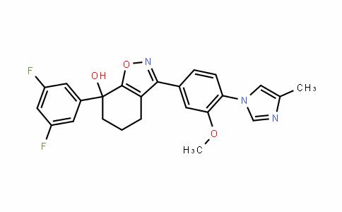 7-(3,5-Difluorophenyl)-3-(3-Methoxy-4-(4-Methyl-1H-iMiDazol-1-yl)phenyl)-4,5,6,7-tetrahyDrobenzo[D]isoxazol-7-ol