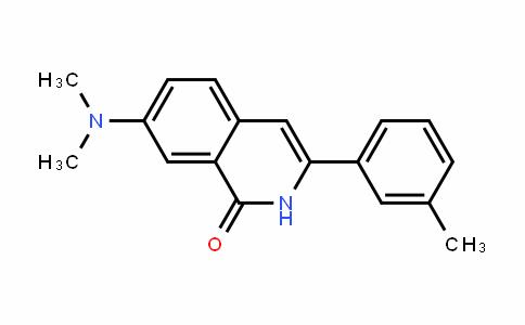 7-(Dimethylamino)-3-m-tolylisoquinolin-1(2H)-one