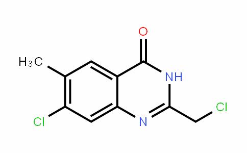 7-chloro-2-(chloromethyl)-6-methylquinazolin-4(3H)-one