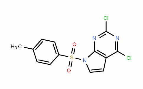 7H-Pyrrolo[2,3-D]pyrimiDine, 2,4-Dichloro-7-[(4-methylphenyl)sulfonyl]-