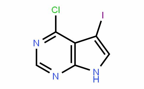 7H-Pyrrolo[2,3-D]pyrimiDine, 4-chloro-5-ioDo-
