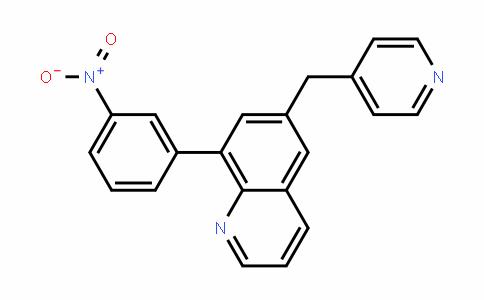 8-(3-nitrophenyl)-6-(pyriDin-4-ylMethyl)quinoline