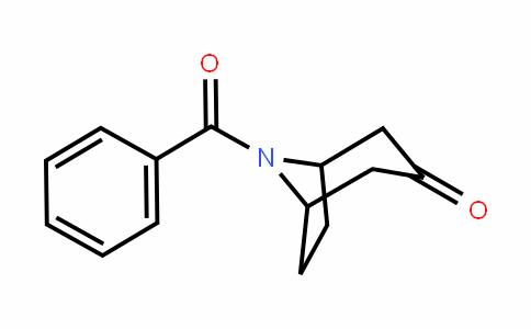 8-benzoyl-8-azabicyclo[3.2.1]octan-3-one