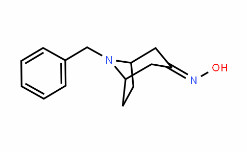 8-benzyl-8-azabicyclo[3.2.1]octan-3-one oxime
