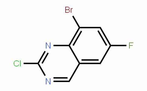 8-BroMo-2-chloro-6-fluoroquinazoline