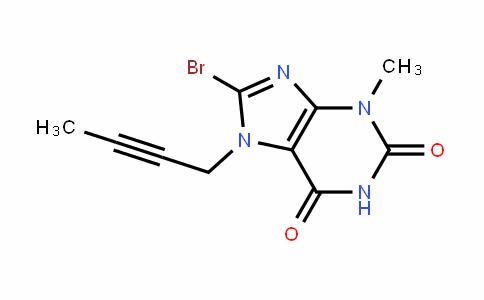 8-bromo-7-(but-2-yn-1-yl)-3-methyl-1H-purine-2,6(3H,7H)-Dione