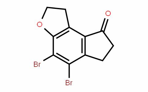 8H-InDeno[5,4-b]furan-8-one, 4,5-Dibromo-1,2,6,7-tetrahyDro-