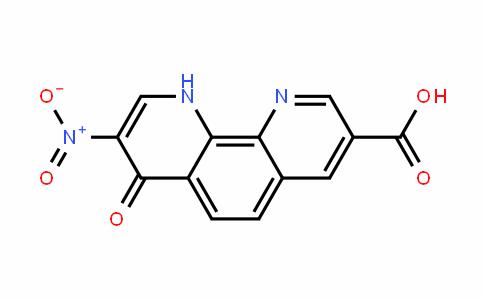 7,10-二氢-8-硝基-7-氧代-1,10-菲罗啉-3-羧酸