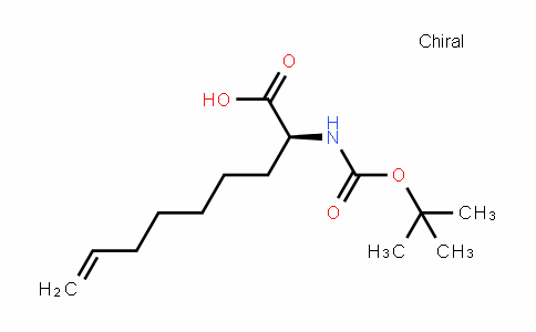 8-Nonenoic acid, 2-[[(1,1-Dimethylethoxy)carbonyl]amino]-, (2S)-