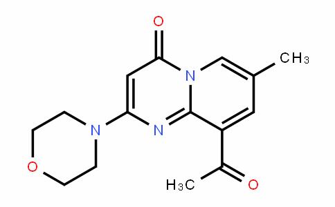 9-乙酰基-7-甲基-2-吗啉基-4H-吡啶并[1,2-a]嘧啶-4-酮