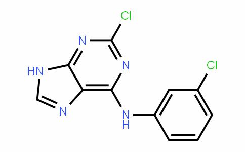 9H-Purin-6-amine, 2-chloro-N-(3-chlorophenyl)-