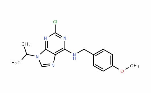 9H-Purin-6-amine, 2-chloro-N-[(4-methoxyphenyl)methyl]-9-(1-methylethyl)-