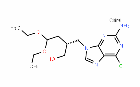 9H-Purine-9-propanol, 2-aMino-6-chloro-β-(2,2-Diethoxyethyl)-, (βR)-
