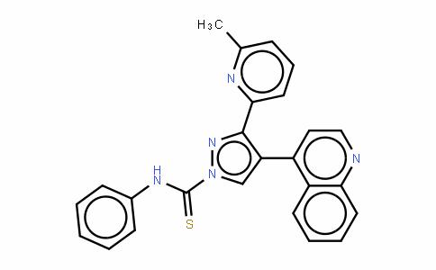 3-(6-METHYL-2-PYRIDINYL)-N-PHENYL-4-(4-QUINOLINYL)-1H-PYRAZOLE-1-CARBOTHIOAMIDE