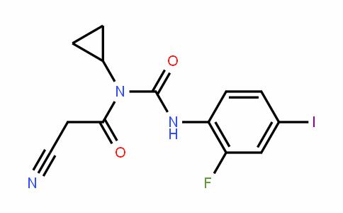 AcetamiDe, 2-cyano-N-cyclopropyl-N-[[(2-fluoro-4-ioDophenyl)amino]carbonyl]-