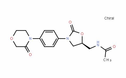 AcetamiDe, N-[[(5S)-2-oxo-3-[4-(3-oxo-4-morpholinyl)phenyl]-5-oxazoliDinyl]methyl]-