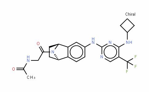 AcetaMiDe, N-[2-[(1R,4S)-6-[[4-(cyclobutylaMino)-5-(trifluoroMethyl)-2-pyriMiDinyl]aMino]-1,2,3,4-tetrahyDronaphthalen-1,4-iMin-9-yl]-2-oxoethyl]-