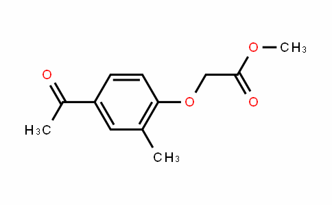 Acetic acid, 2-(4-acetyl-2-methylphenoxy)-, methyl ester