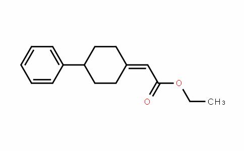 Acetic acid, 2-(4-phenylcyclohexyliDene)-, ethyl ester