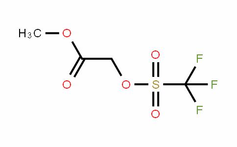 Acetic acid, 2-[[(trifluoromethyl)sulfonyl]oxy]-, methyl ester