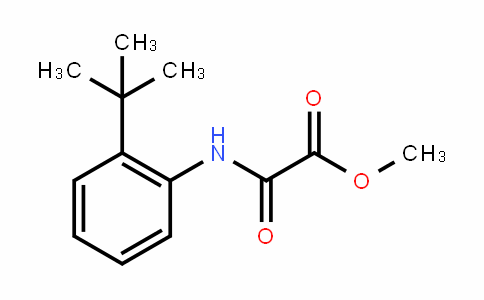 Acetic acid, 2-[[2-(1,1-Dimethylethyl)phenyl]amino]-2-oxo-, methyl ester
