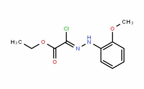 Acetic acid, 2-chloro-2-[2-(2-Methoxyphenyl)hyDrazinyliDene]-, ethyl ester