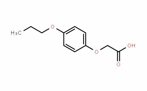 Acetic acid, p-propoxyphenoxy- (5CI)