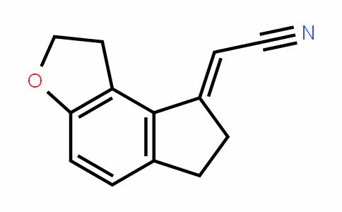 Acetonitrile, 2-(1,2,6,7-tetrahyDro-8H-inDeno[5,4-b]furan-8-yliDene)-, (2E)-