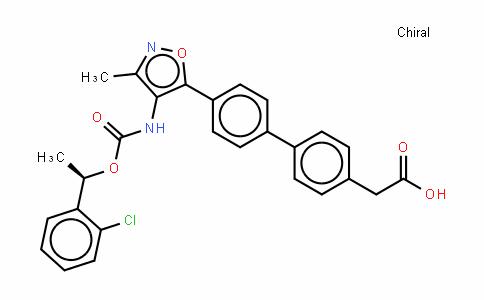 4'-[4-[[[(1R)-1-(2-氯苯基)乙氧基]羰基]氨基]-3-甲基-5-异恶唑基]-联苯-4-乙酸