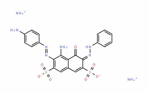 ammonium (E)-5-amino-6-((E)-(4-aminophenyl)Diazenyl)-4-oxo-3-(2-phenylhyDrazono)-3,4-DihyDronaphthalene-2,7-Disulfonate