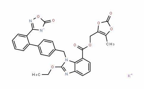 Azilsartan (meDoxomil monopotassium)