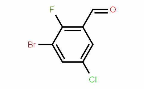 BenzalDehyDe, 3-broMo-5-chloro-2-fluoro-