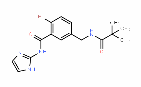BenzaMiDe, 2-broMo-5-[[(2,2-DiMethyl-1-oxopropyl)aMino]Methyl]-N-1H-iMiDazol-2-yl-