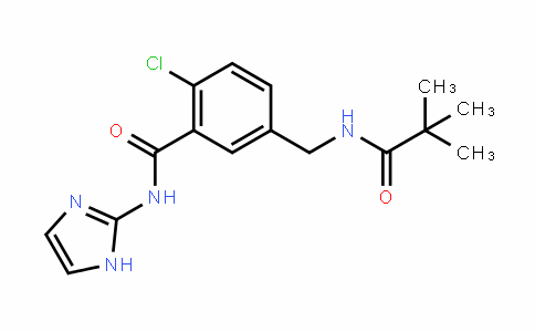 BenzaMiDe, 2-chloro-5-[[(2,2-DiMethyl-1-oxopropyl)aMino]Methyl]-N-1H-iMiDazol-2-yl-