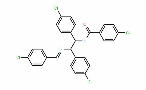 BenzamiDe, N-[1,2-bis(4-chlorophenyl)-2-[[(4-chlorophenyl)methylene]amino]ethyl]-4-chloro-