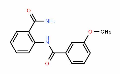 BenzamiDe, N-[2-(aminocarbonyl)phenyl]-3-methoxy-