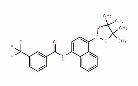 BenzaMiDe, N-[4-(4,4,5,5-tetraMethyl-1,3,2-Dioxaborolan-2-yl)-1-naphthalenyl]-3-(trifluoroMethyl)-