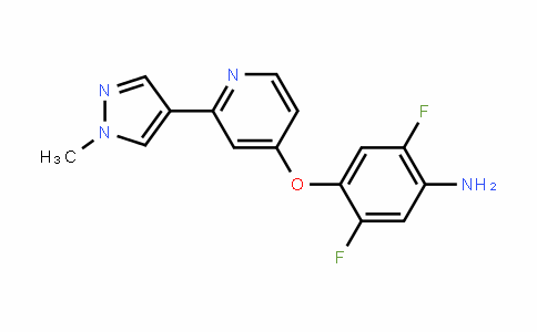Benzenamine, 2,5-Difluoro-4-[[2-(1-methyl-1H-pyrazol-4-yl)-4-pyriDinyl]oxy]-