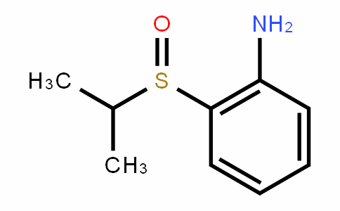 BenzenaMine, 2-[(1-Methylethyl)sulfinyl]-