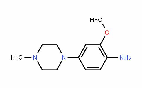 Benzenamine, 2-methoxy-4-(4-methyl-1-piperazinyl)-