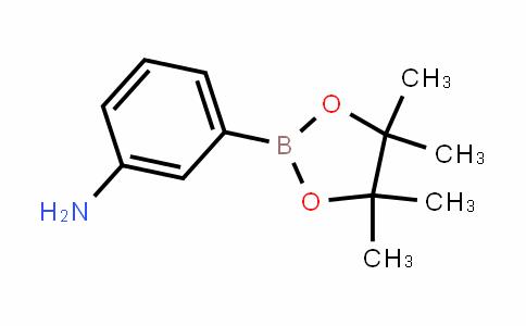BenzenaMine, 3-(4,4,5,5-tetraMethyl-1,3,2-Dioxaborolan-2-yl)-