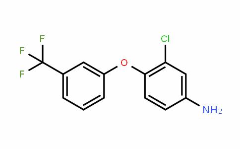 Benzenamine, 3-chloro-4-[3-(trifluoromethyl)phenoxy]-