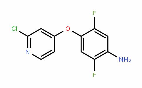Benzenamine, 4-[(2-chloro-4-pyriDinyl)oxy]-2,5-Difluoro-