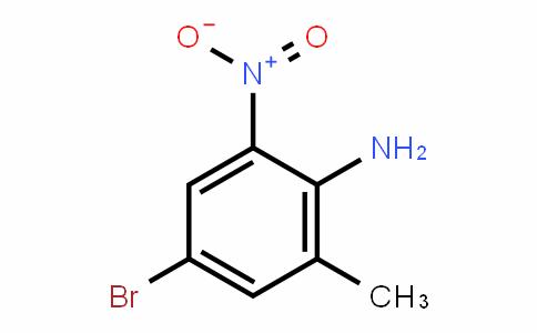 Benzenamine, 4-bromo-2-methyl-6-nitro-
