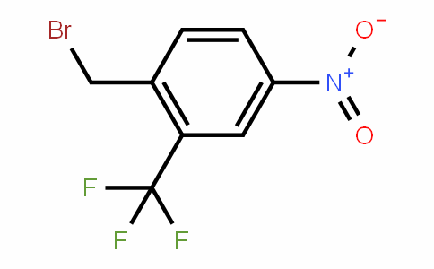 Benzene, 1-(bromomethyl)-4-nitro-2-(trifluoromethyl)-