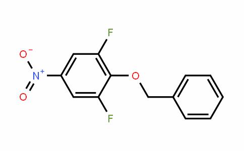 Benzene, 1,3-Difluoro-5-nitro-2-(phenylmethoxy)-