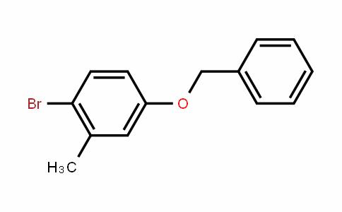 Benzene, 1-bromo-2-methyl-4-(phenylmethoxy)-