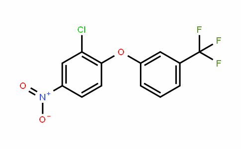 Benzene, 2-chloro-4-nitro-1-[3-(trifluoromethyl)phenoxy]-