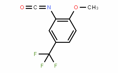 Benzene, 2-isocyanato-1-methoxy-4-(trifluoromethyl)-