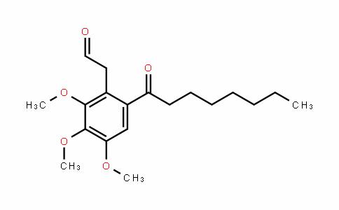 BenzeneacetalDehyDe, 2,3,4-triMethoxy-6-(1-oxooctyl)-